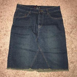 Aeropostale Denim Skirt